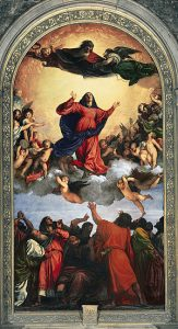 Assumption of the Virgin, Titian, Madeleine Stebbins, Looking at a Masterpiece