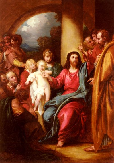 Christ Showing a Little Child
