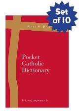 Set of 10 Faith Basics: Pocket Catholic Dictionary