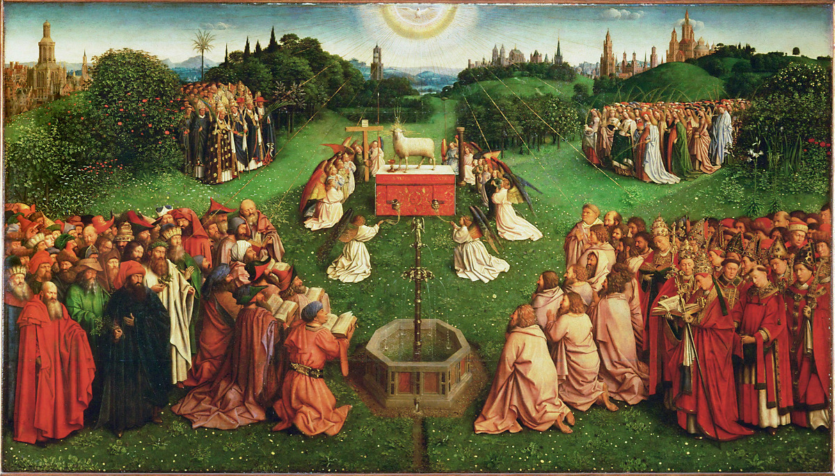 Image result for eucharist supper of lamb