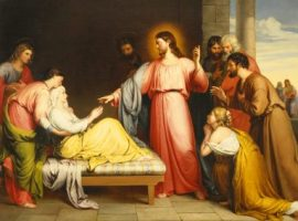 Christ Healing the Mother of Simon Peter's Wife