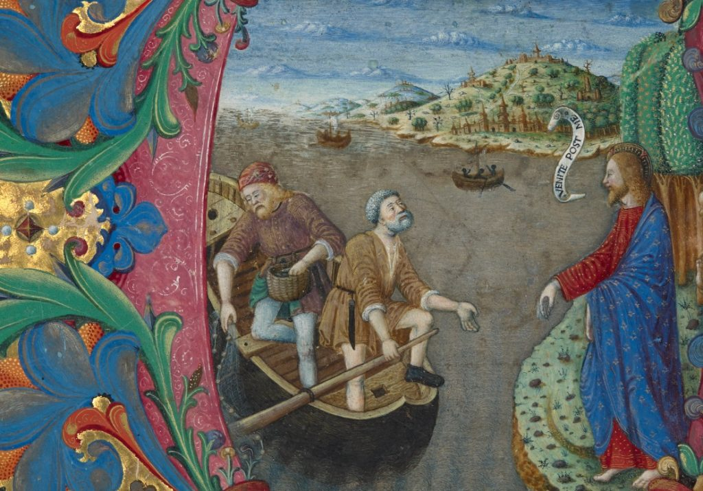 The Calling of Sts. Peter and Andrew