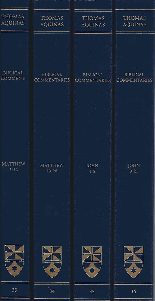 Commentary What To Consider When >> Commentary On The Gospels Of Matthew And John Complete Set Latin