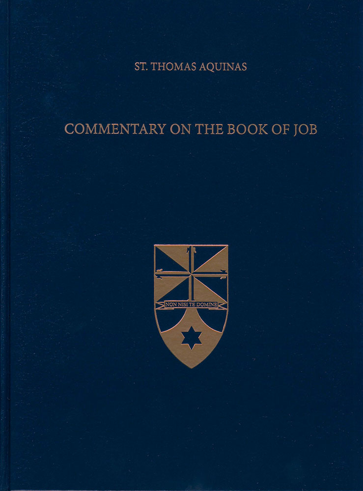 Commentary On The Book Of Job St Paul Center