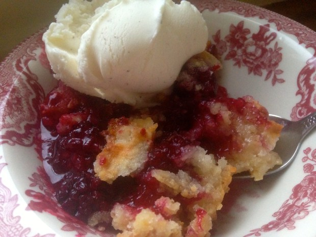 Emily Stimpson Chapman, blackberry cobbler,