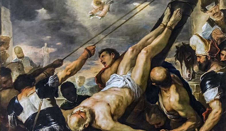 Crucifixion of St. Peter, Nero, Villains of the Early Church