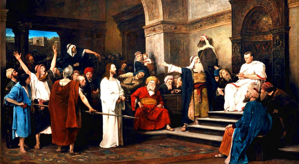 Villains of the Early Church, Mike Aquilina, Jesus before Pilate