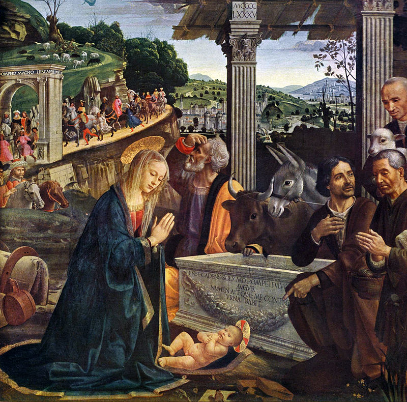 Looking at a Masterpiece, Madeleine Stebbins, Adoration of the Shepherds