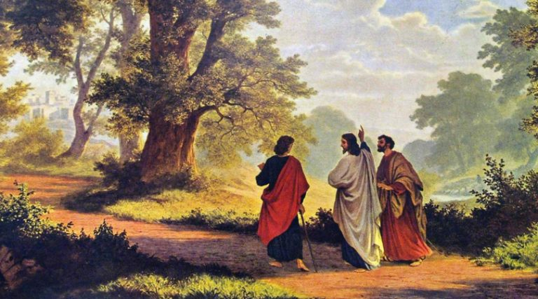 Wahht to do for Lent, Easter, Road to Emmaus, Luke 24