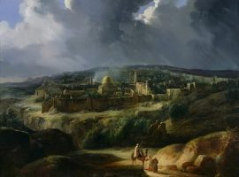 View of Jerusalem from the Valley of Josaphat
