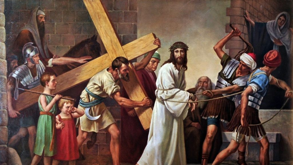 meatless friday, stations of the cross, lent